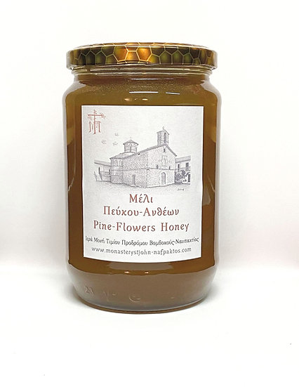 Honey from Pine Tree and Flower Blossoms