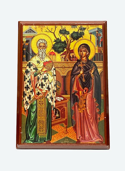 Saints Cyprian and Justini