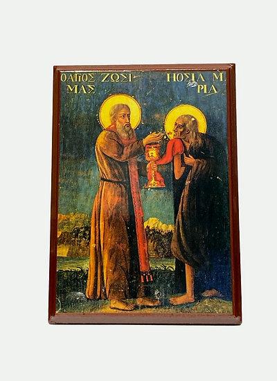 Saint Zosimas and Saint Maria of Egypt