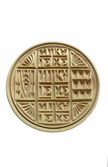 Wooden Holy bread stamp