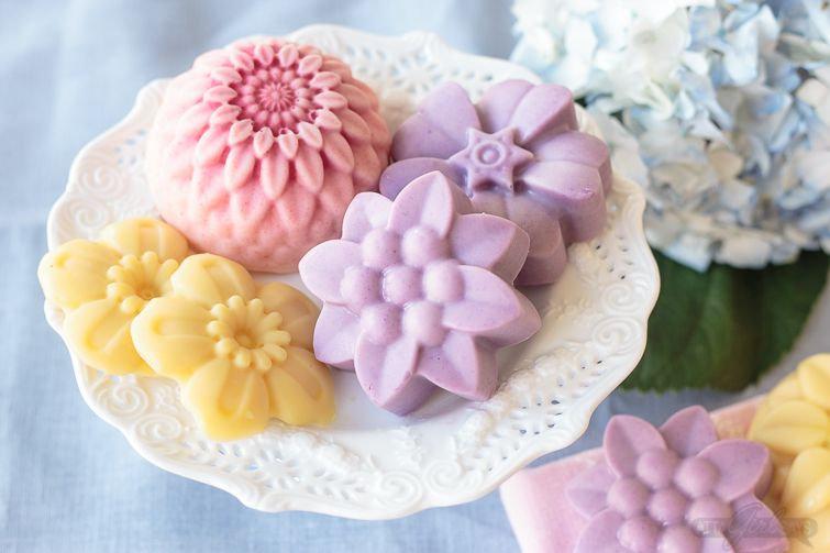 Lavender Soap with Design
