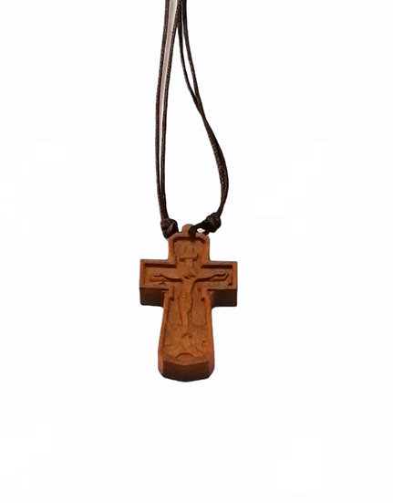 Wooden neck crosses