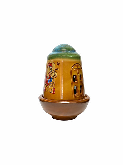 Ceramic Vigil lamp