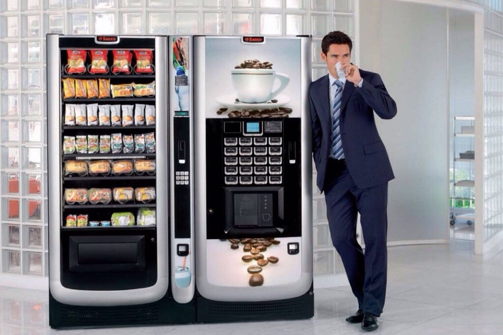 Установка кофейных автоматов