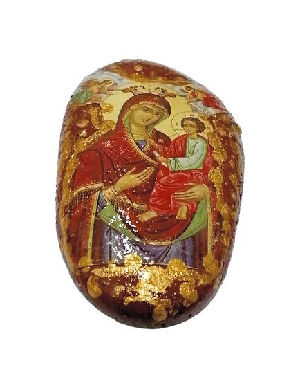 Icon on stone