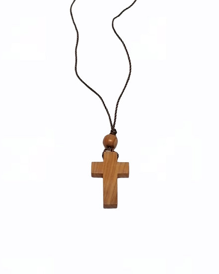 Handmade wooden neck cross