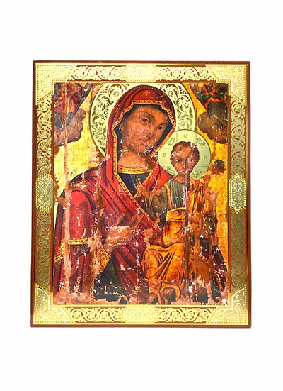 Virgin Mary - MDF thin wooden icon