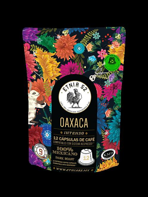 12 Cápsulas de Café Oaxaca (INTENSIDAD 8-9)