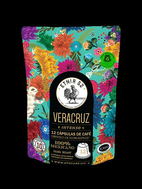 12 Cápsulas de Café Veracruz (INTENSIDAD 9-10)