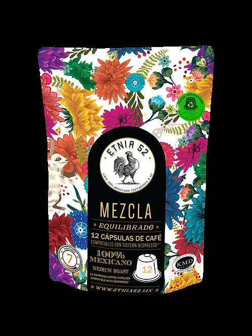 12 Cápsulas de Café Mezcla (INTENSIDAD 7-8)