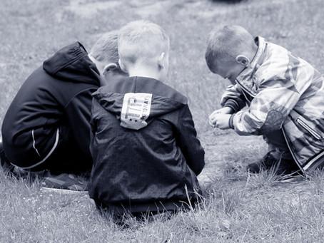 Kinderen in therapie: een uitdrukking van rouw herkennen.