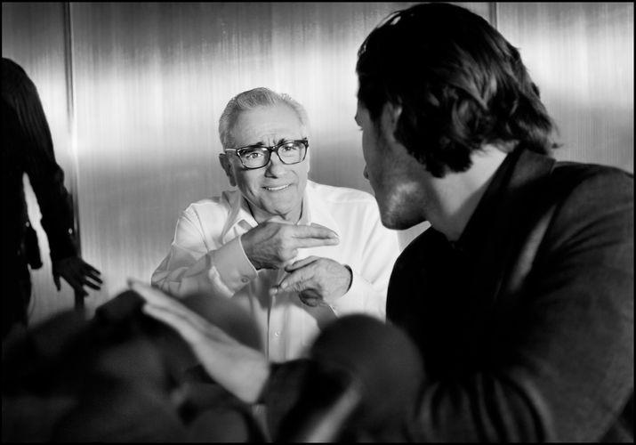 Chanel, Bleu de Chanel,  Martin Scorsese, Gaspard Ulliel, Photograph by Andrew Cooper