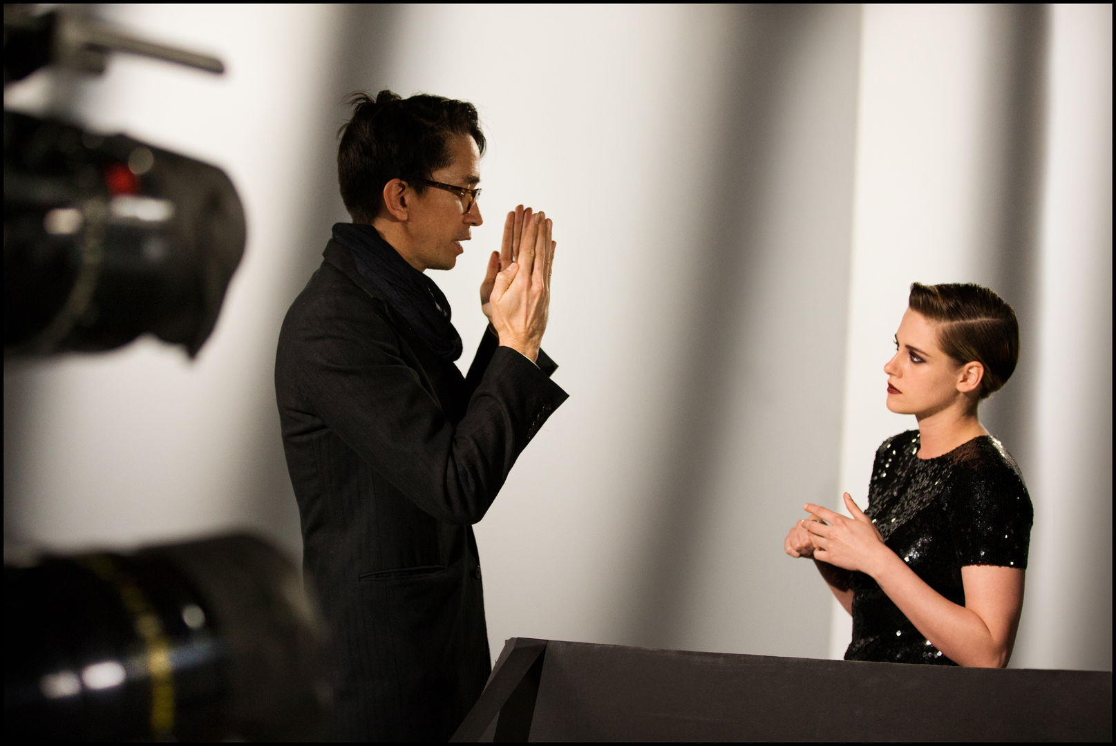 Chanel, Beauty Talk Eyes, Kristen Stewart, Lucia Pica, Patrick Daughters, Andrew Cooper, Photograph by Andrew Cooper