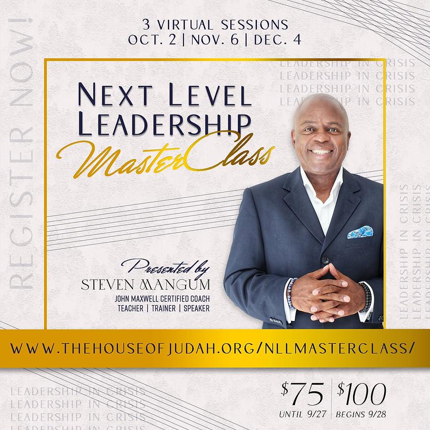 Next Level Leadership MasterClass: Leadership in Crisis