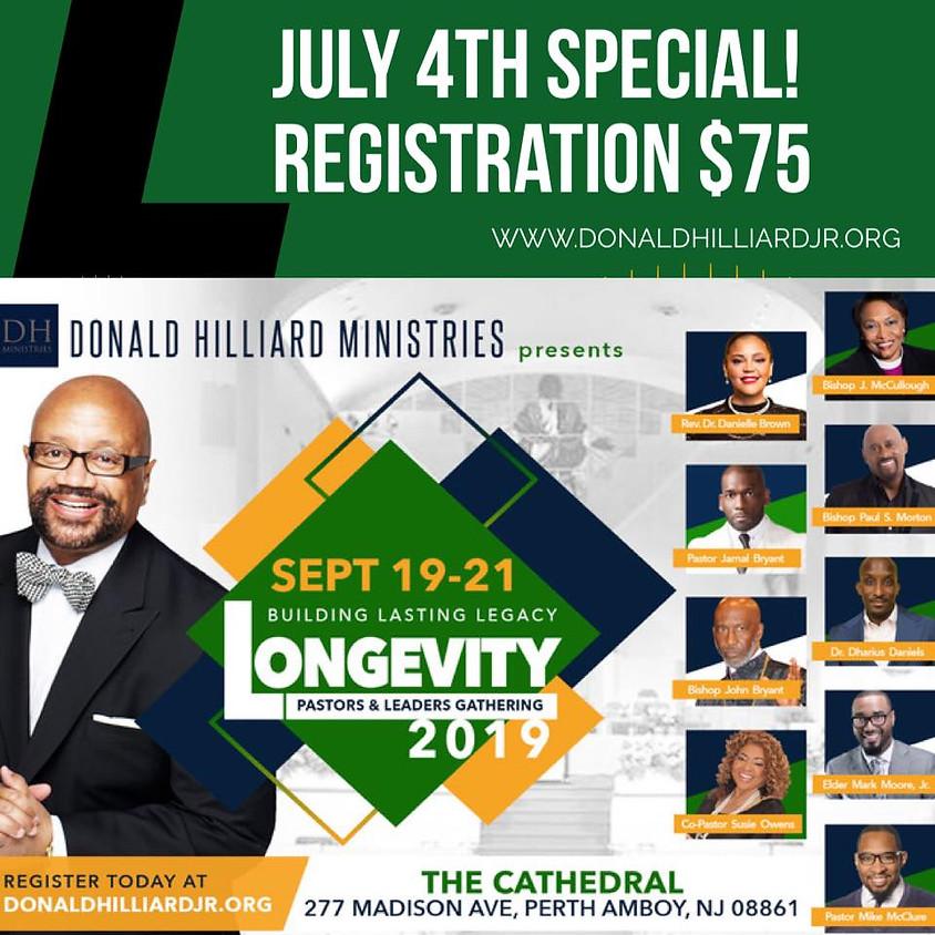 Longevity Pastors and Leaders Gathering
