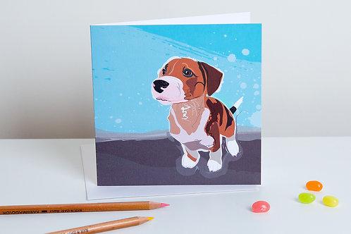 'Pippa' Puppy – Card