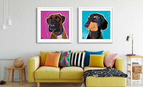 Katie Bell pet portraits