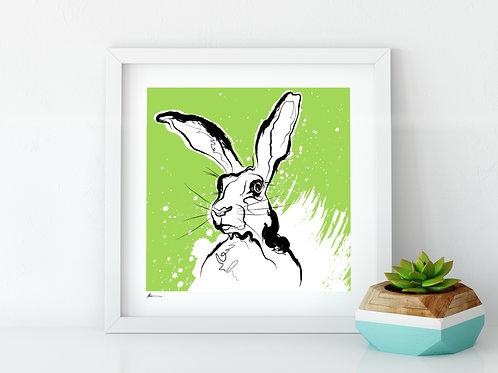 'Mad Hare' Print