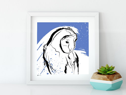 'Barn Owl' Print