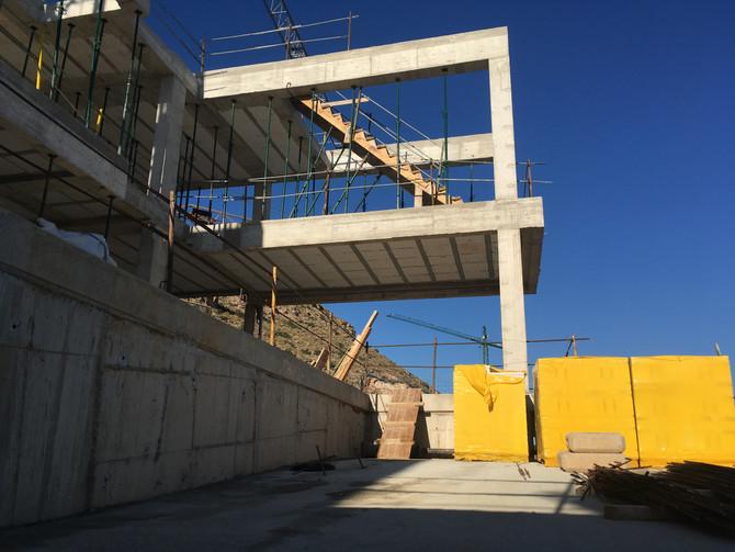 Diario de obra: Finalizamos estructura de vivienda