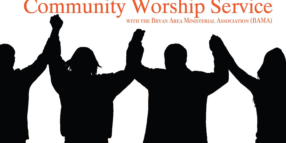 Community Worship Service at the AMP
