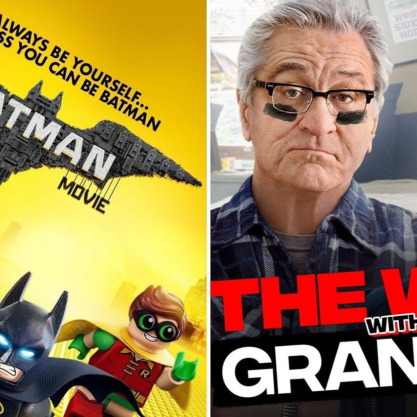 The LEGO Batman Movie / The War With Grandpa