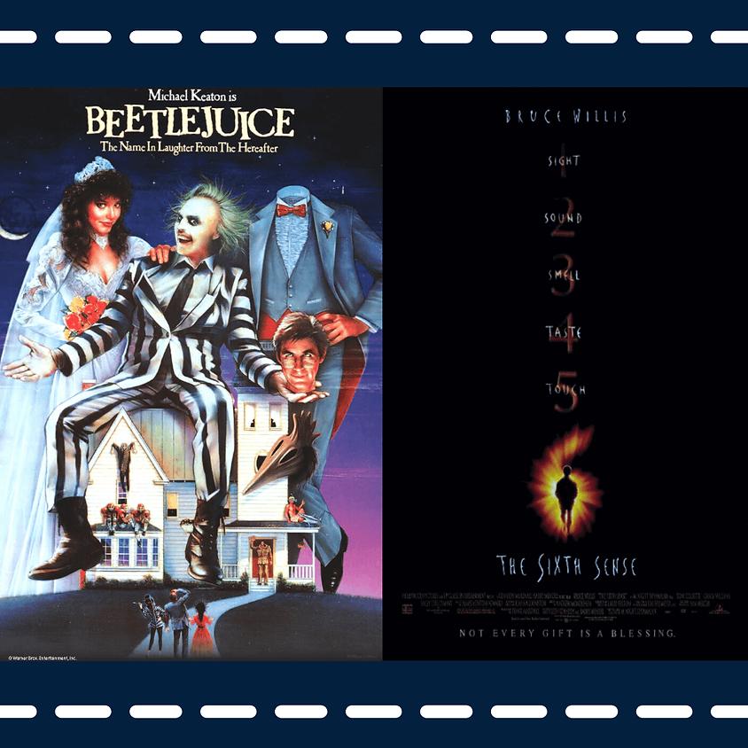 Beetlejuice (PG) / The Sixth Sense (PG-13)