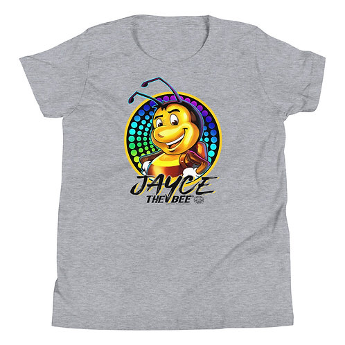 JAYCE THE BEE: Disco Bee Youth Short Sleeve T-Shirt
