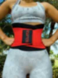 squats team fitness belt waist cincher w