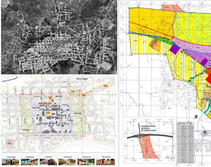Servicios Técnicos para la formulación y gestión de aprobación del Plan de Desarrollo Urbano Local (PDUL) de Aragua de Barcelona, Municipio Aragua de Barcelona