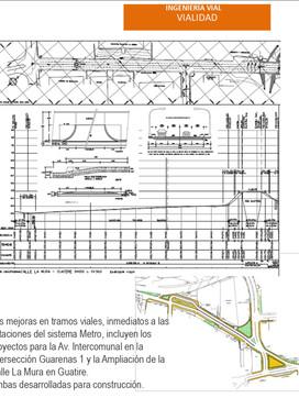 Ingeniería Vial: Proyecto de Rehabilitación Urbanística del Área de Influencia del Sistema de Transporte Masivo de Pasajeros Caracas – Guarenas – Guatire de la C.A. Metro de Caracas