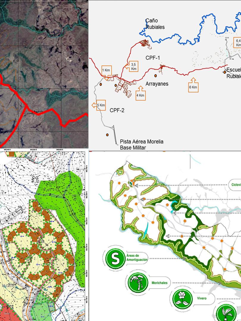 Plan Maestro de Centro Rubiales y proyecto etapa I, municipio Puerto Gaitán, Departamento del Meta, Colombia