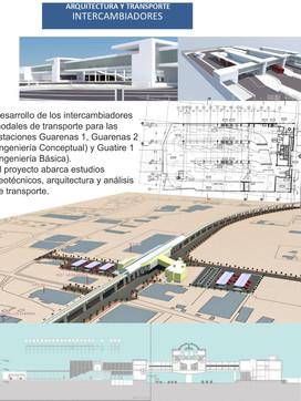 Arquitectura y Transporte: Proyecto de Rehabilitación Urbanística del Área de Influencia del Sistema de Transporte Masivo de Pasajeros Caracas – Guarenas – Guatire de la C.A. Metro de Caracas