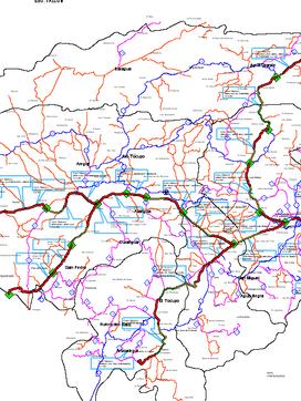 Plan Maestro de Vialidad para los estados Lara, Mérida y Trujillo