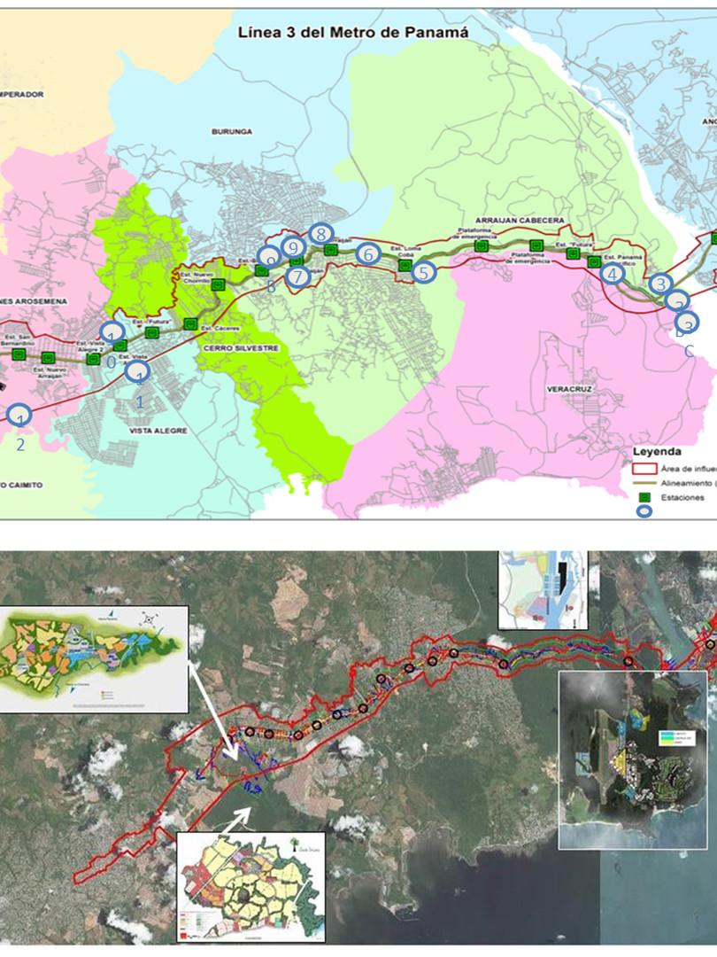 Diagnóstico Urbanístico del Área de Influencia de la Línea 3 del Metro de Panamá