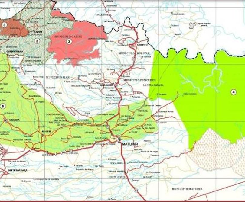 Plan Maestro de Vialidad de los Estados Anzoátegui, Monagas, Sucre y Bolívar