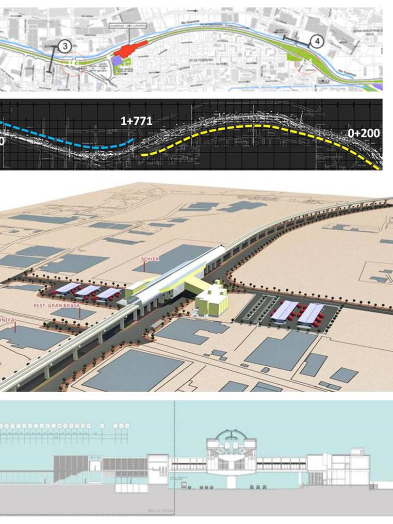 Proyecto de Rehabilitación Urbanística del Área de Influencia del Sistema de Transporte Masivo de Pasajeros Caracas – Guarenas – Guatire de la C.A. Metro de Caracas