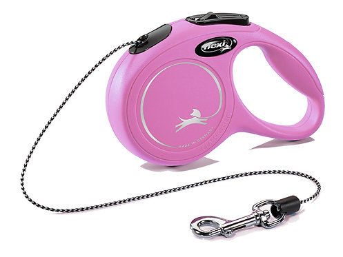 FLEXI NEW CLASSIC XS - 3M ROPE - PINK