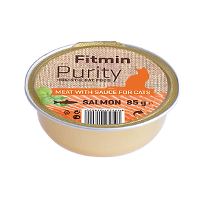 Fitmin cat Purity alutray Salmon - 85 g.