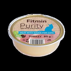 Fitmin cat Purity alutray Turkey - 85 g.