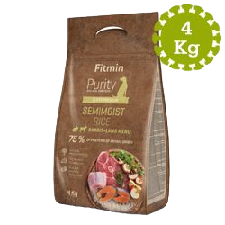 Purity Rice Semimoist Rabbit & Lamb 4kg