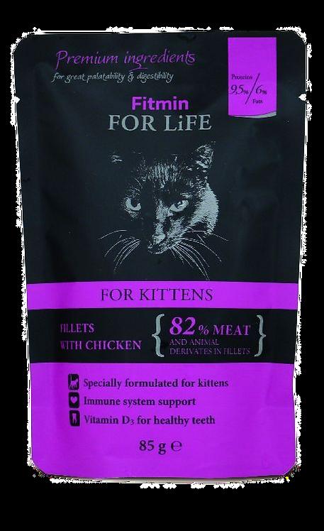 Chicken Kitten Φακελάκια 85gr