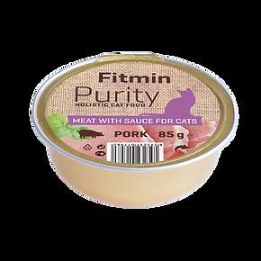 Fitmin cat Purity alutray Pork - 85 g.pn