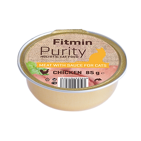 Fitmin cat Purity alutray Chicken - 85 g