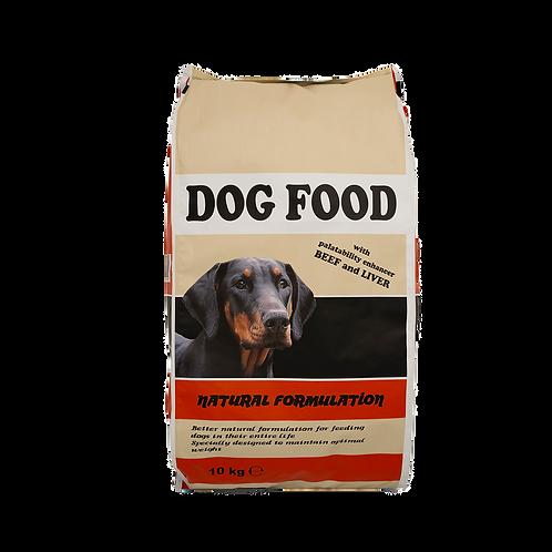 DOG BEEF & LIVER 3KG