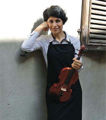 Fiorella Anelli, foto  per sala 10, Muse