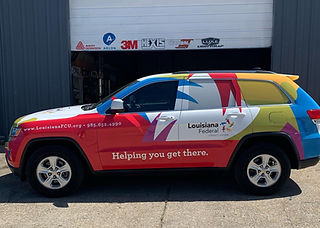 Full Color Vinyl Wrap for Commercial Use