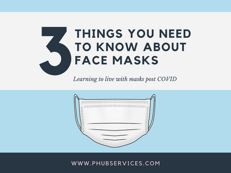 3 Things You Need To Know About Face Masks