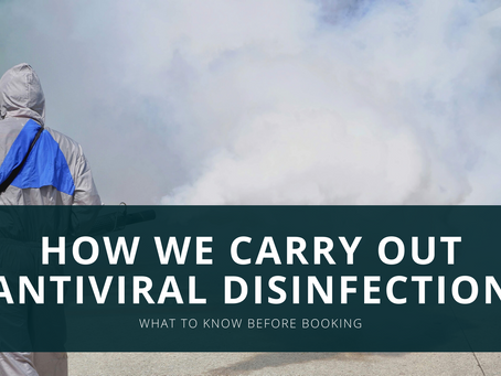 How We Carry Out Antiviral Disinfection