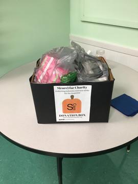 Donations at Elwood!